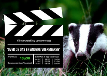 voorstelling Dassenfilm i.s.m Wild-Things.be