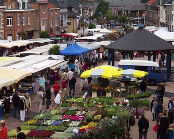 Euregionale farmers market (Aubel)