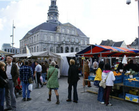 Big market and fish market (Maastricht – NL)