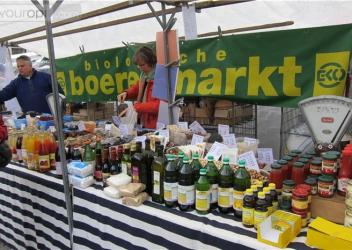 Marché de producteurs biologiques (Maastricht – NL)