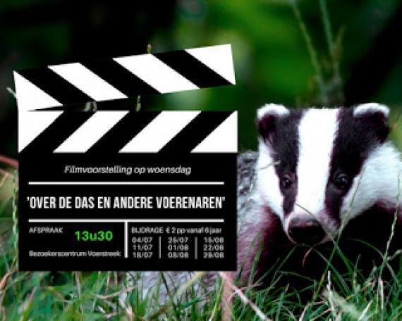 voorstelling Dassenfilm i.s.m Wild-Things.be