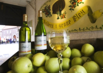 Apfelwein 'Kelders I genne Pley'
